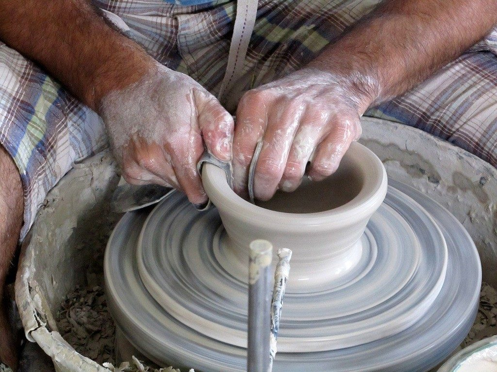 How To Make Ceramics At Home Spinning Pots