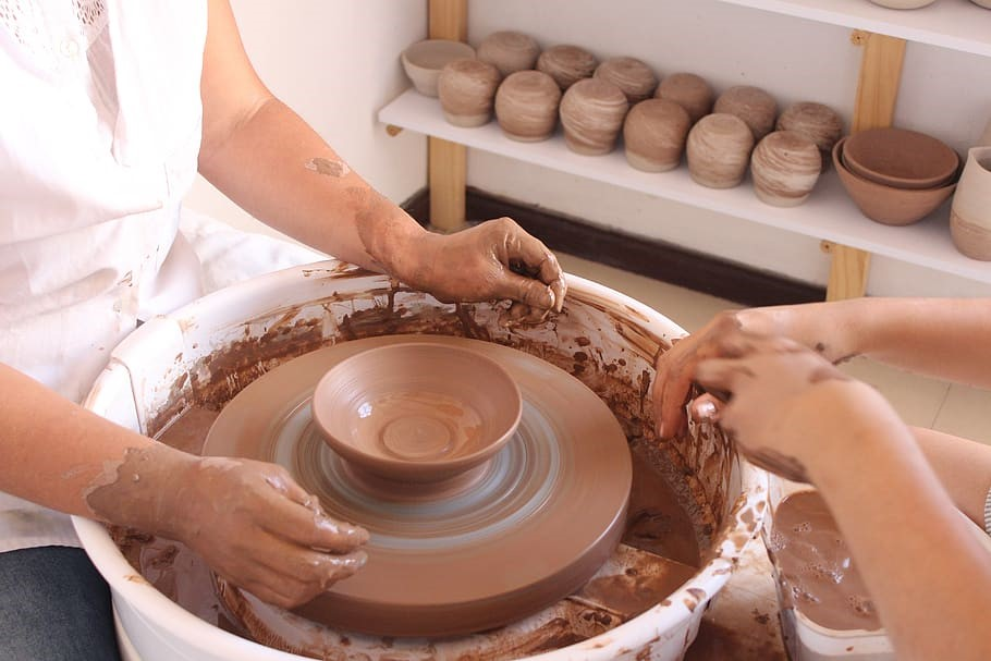 Can Clay Be Too Dry To Fire Spinning Pots